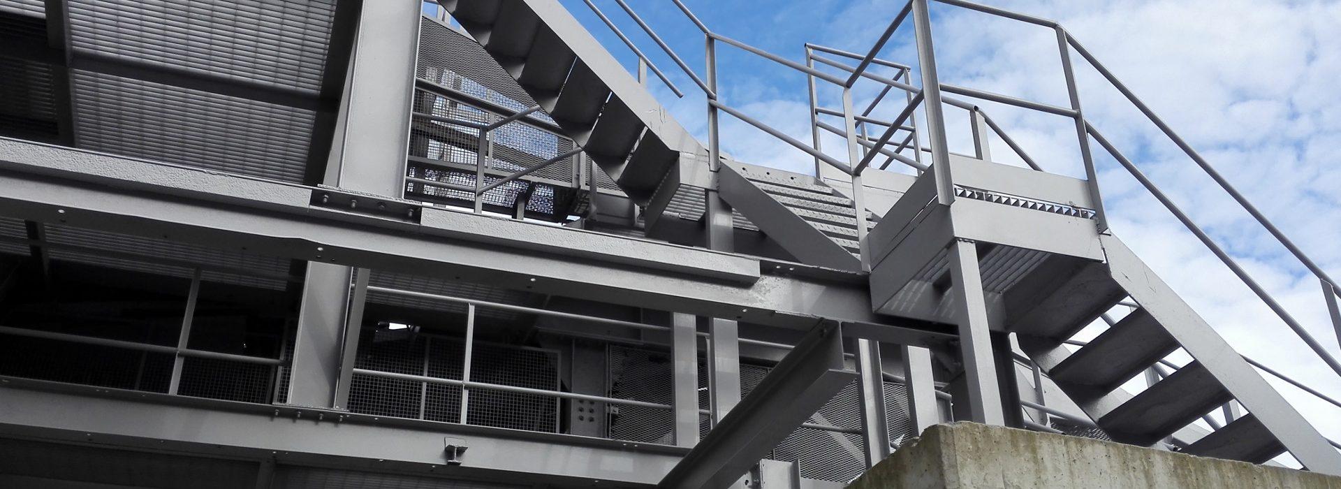 Ladder Platform Walkway Installations