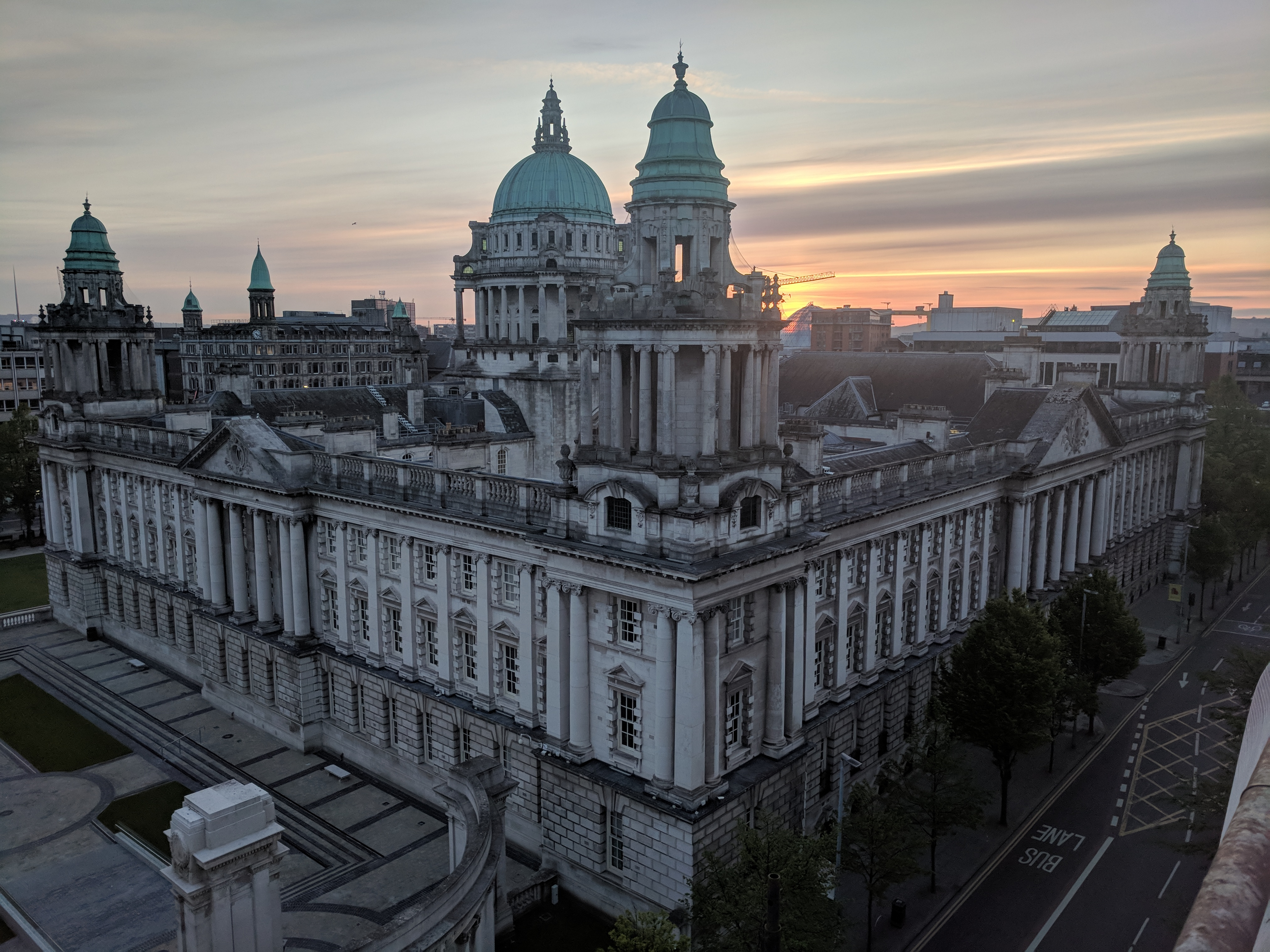 Building-Cleaning-Belfast-City-Hall